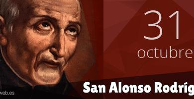 Santo Alfonsus Rodriquez, 31 Oktober, katekese, Komsos KWI, Konferensi Waligereja Indonesia, KWI, Para Kudus di Surga, santo santa, teladan kita