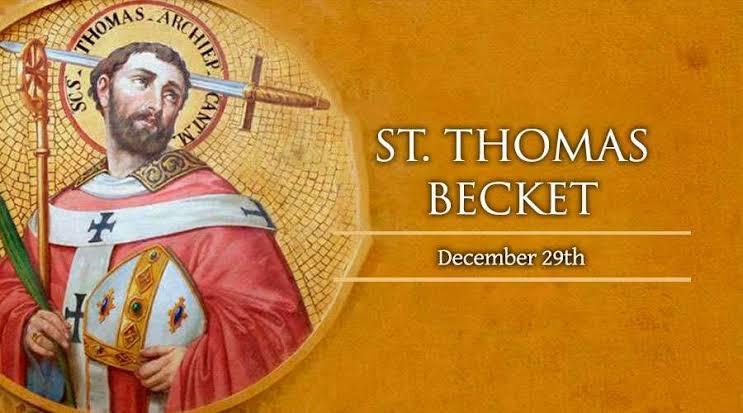 29 Desember, Natal, Putera Allah, katekese, katolik, Komsos KWI, Konferensi Waligereja Indonesia, KWI, Para Kudus di Surga, , Santo Thomas Becket, Pesta Kanak - Kanak Suci, santo santa, Sukacita, teladan kita