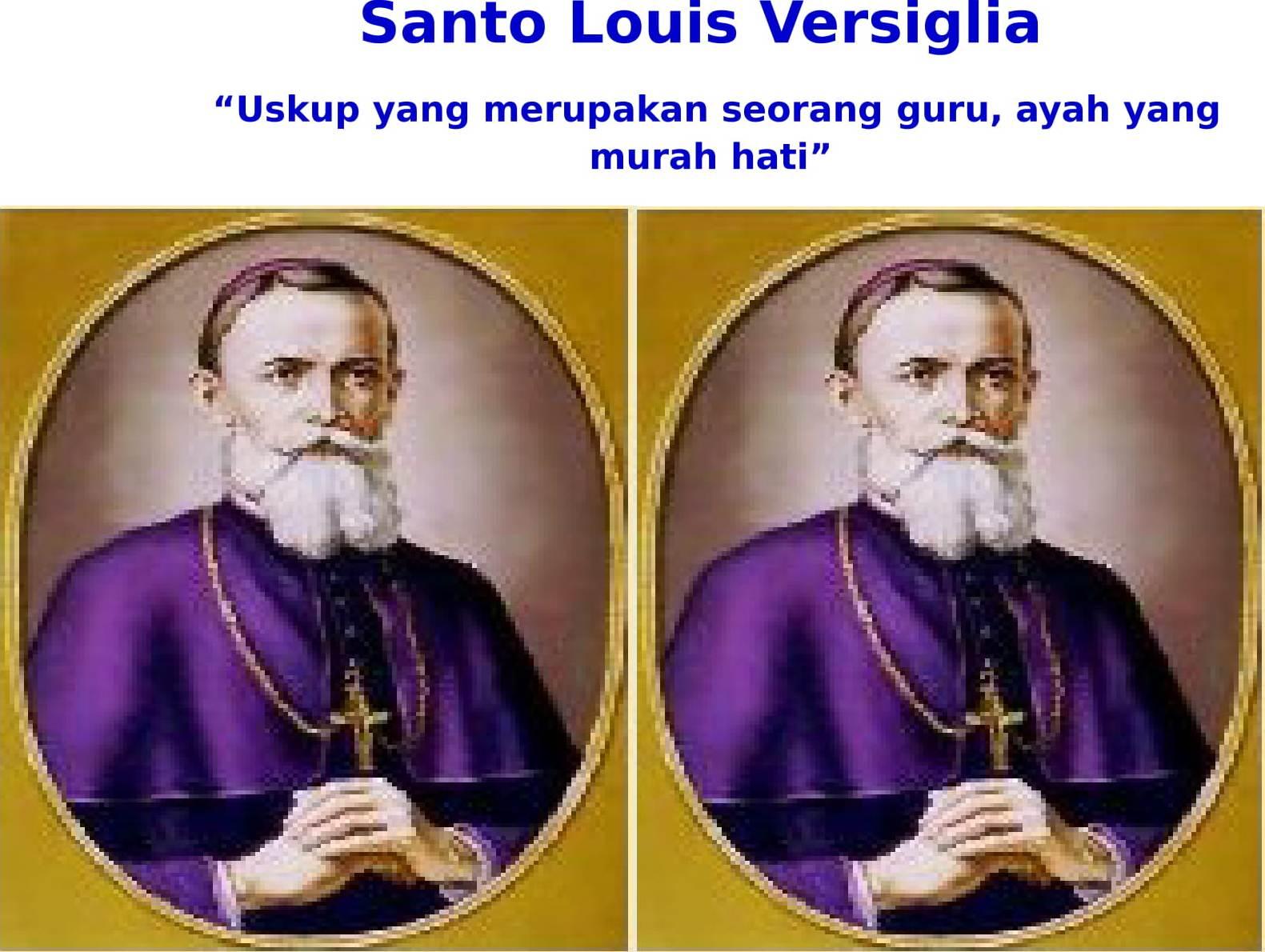 Santo santa 25 Februari