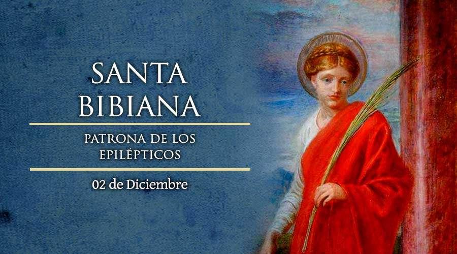 02 Desember, katekese, Komsos KWI, Konferensi Waligereja Indonesia, KWI, Para Kudus di Surga, SantA Bibiana, Santa Natalia, santo santa, teladan kita