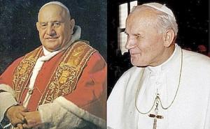Paus Yohanes XXIII dan Yohanes Paulus II