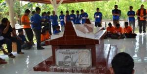 Makam Pastor Dominikus Rua Dapa Pr, psator asli Sumba pertama