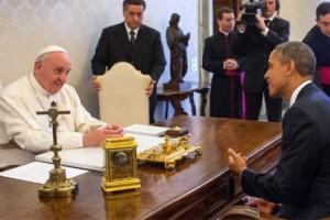 PopeFrancisAndObama