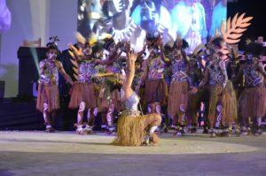 Atraksi Budaya OMK Regio Papua Keuskupan Agats-Asmat pada puncak IYD 2016 di Manado (3)