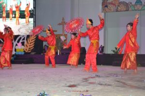 Atraksi budaya OMK Keuskupan Padang (2)