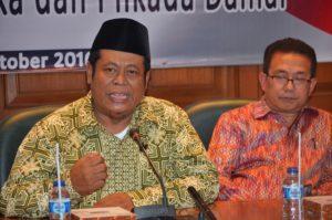 Dr. H. Marshudi Shuhud, Ketua PBNU Indonesia