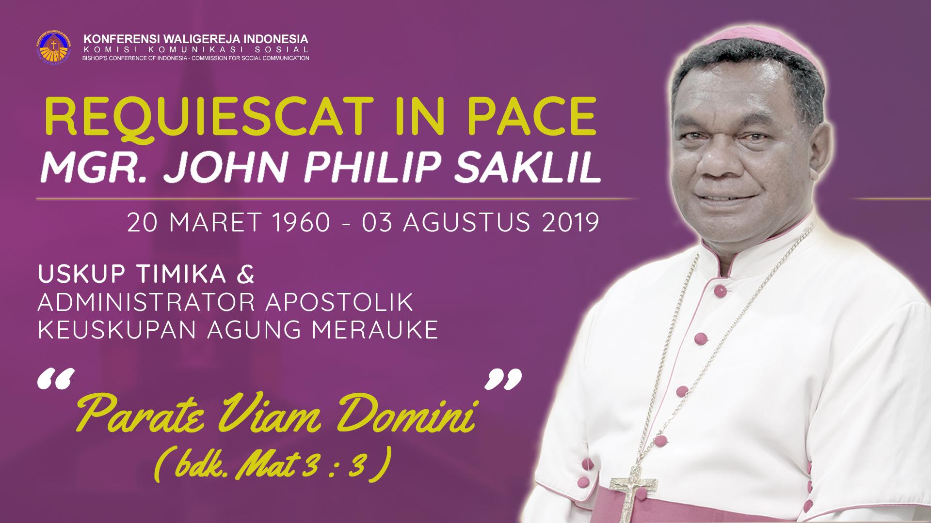 Mgr John Philip Saklil