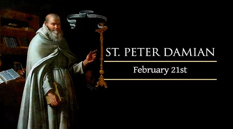 21 Februari, Santo Eucherius dari Orleans, Santo Petrus Damianus, katekese, katolik, Komsos KWI, Konferensi Waligereja Indonesia, KWI, Para Kudus di Surga, putera allah, santo santa, Sukacita, teladan kita