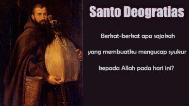 22 Maret, katekese, Komsos KWI, Konferensi Waligereja Indonesia, KWI, Para Kudus di Surga, Santo Serapion,Santo Deogratias, Santo Cuthbert, santo santa, teladan kita