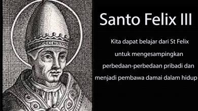 01 Maret, Santo Paus Hilarius, Santo Felix III, katekese, katolik, Komsos KWI, Konferensi Waligereja Indonesia, KWI, Para Kudus di Surga, putera allah, santo santa, Sukacita, teladan kita