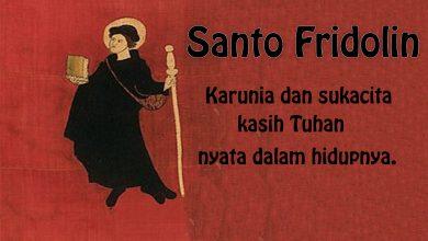 06 Maret, Santo Fridolin, Santo Yohanes Yosef dari Salib, katekese, katolik, Komsos KWI, Konferensi Waligereja Indonesia, KWI, Para Kudus di Surga, putera allah, santo santa, Sukacita, teladan kita