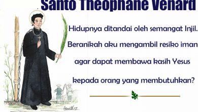 06 November, katekese, Komsos KWI, Konferensi Waligereja Indonesia, KWI, Para Kudus di Surga, Santo Theophane Venard, santo santa, teladan kita