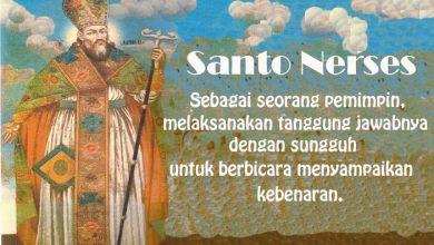 19 November, katekese, Komsos KWI, Konferensi Waligereja Indonesia, KWI, Para Kudus di Surga, Santa Nerses, santo santa, teladan kita