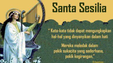 22 November, katekese, Komsos KWI, Konferensi Waligereja Indonesia, KWI, Para Kudus di Surga, Santa Edmund, santo santa, teladan kita, santo santa hari ini