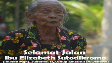 RIP, Komsos KWI, Konferensi Waligereja Indonesia, Ibunda Mgr J. Sunarka