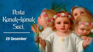 28 Desember, Natal, Putera Allah, katekese, katolik, Komsos KWI, Konferensi Waligereja Indonesia, KWI, Para Kudus di Surga, , Santo Yohanes Rasul, Pesta Kanak - Kanak Suci, santo santa, Sukacita, teladan kita
