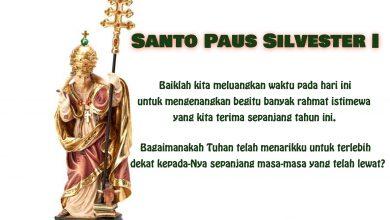31 Desember, Natal, Putera Allah, katekese, katolik, Komsos KWI, Konferensi Waligereja Indonesia, KWI, Para Kudus di Surga, , Santo Paus Silvester I, Santo Sabinus, santo santa, Sukacita, teladan kita