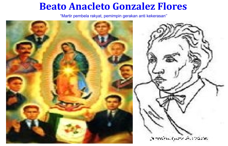 Beato Anacleto Gonzalez Flores