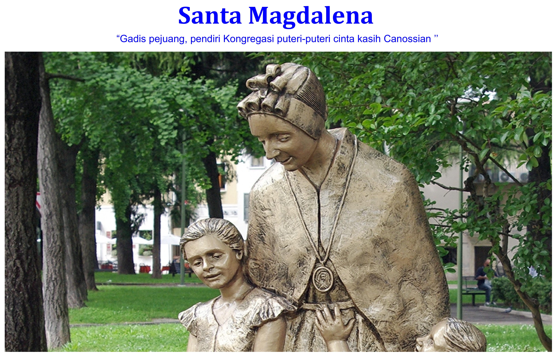 Santa Magdalena dari Canossa
