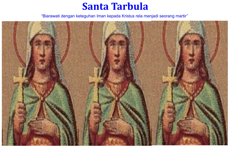Santa Tarbula/Ilustrasi