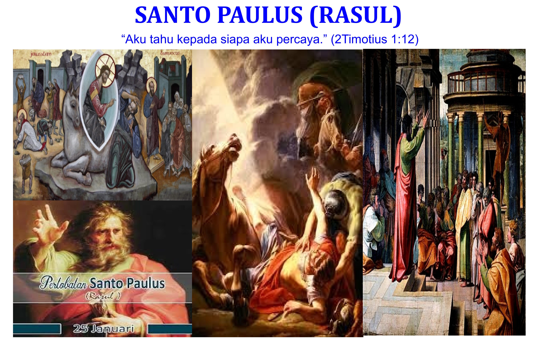 25 Januari,Santo Fransiskus de Sales, Pesta Pertobatan Rasul Paulus, Tuhan,, katekese,katolik,Komsos KWI,Konferensi Waligereja Indonesia,KWI,Para Kudus di Surga,putera allah,santo santa,Sukacita,teladan kita