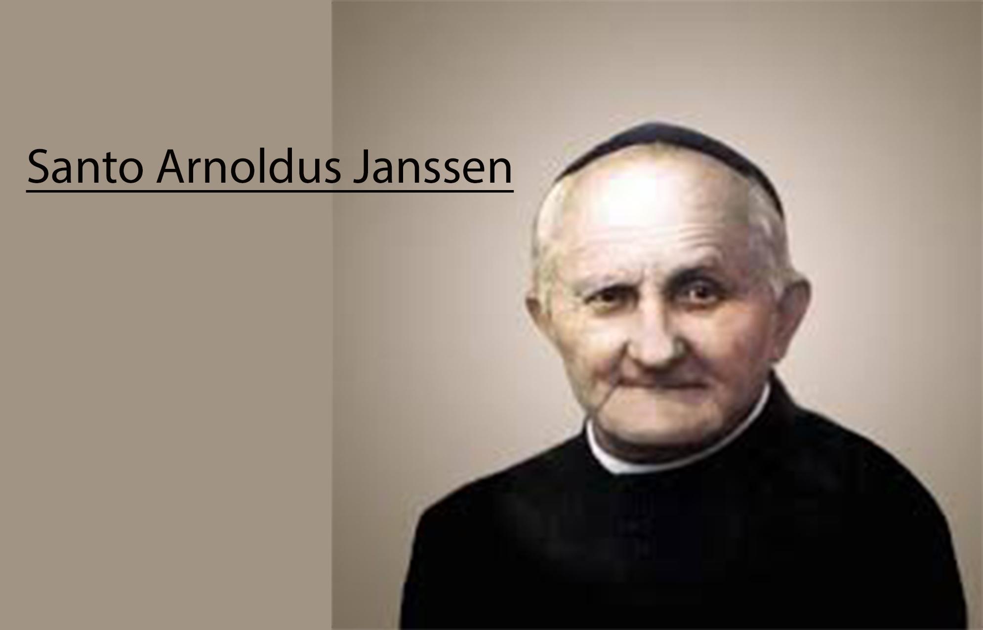 15 Januari, Santo Arnoldus Janssen, Santo Felix dari Nola, katekese, katolik, Komsos KWI, Konferensi Waligereja Indonesia, KWI, Para Kudus di Surga, putera allah, santo santa, Sukacita, teladan kita