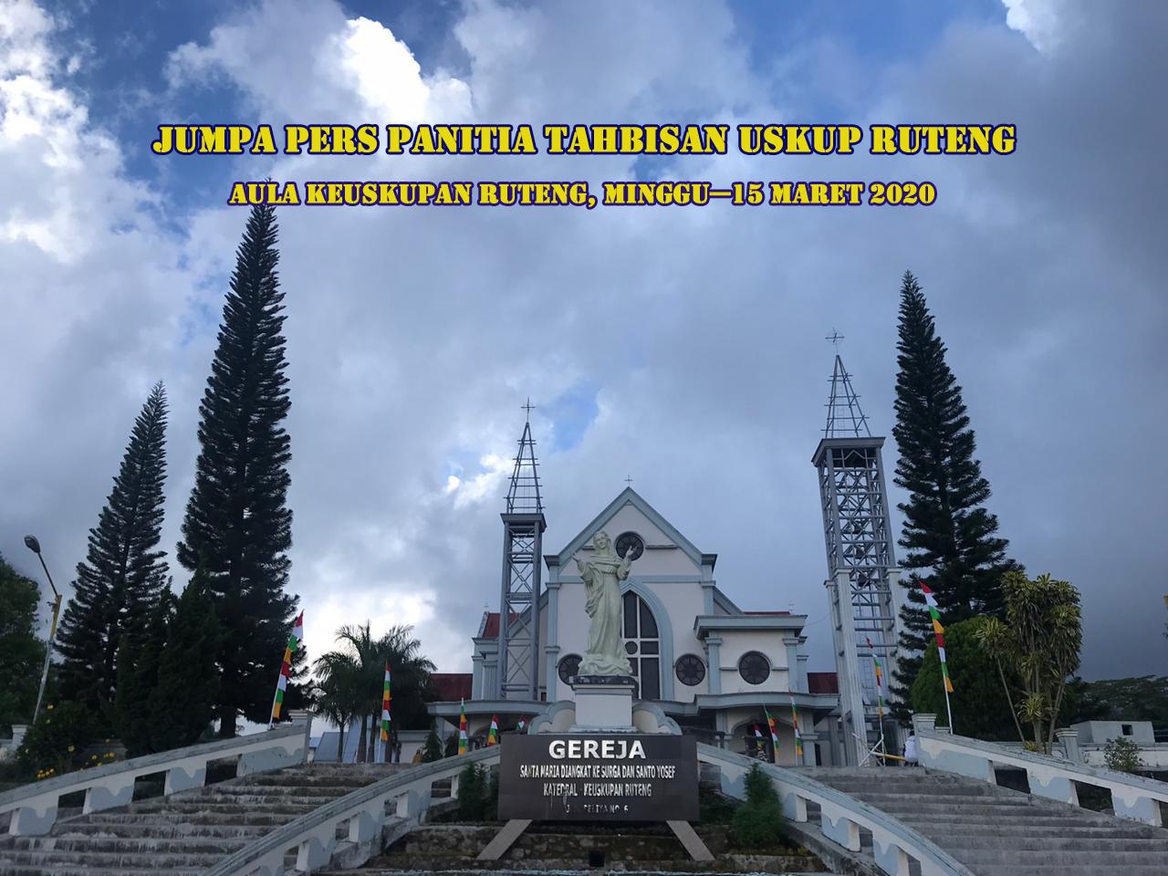 Keuskupan Ruteng, Tahbisan Uskup Ruteng, Komsos KWI, Konferensi Waligereja Indonesia, Jumpa Pers, Oanitia Tahbisan Uskup Ruteng