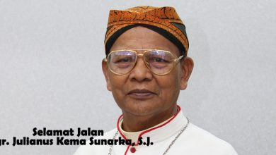 RIP, Rest in Peace, Selamat Jalan Mgr Julianus Kema Sunarka SJ, dalam damai Tuhan Mgr Julianus Kema Sunarka SJ, Keuskupan Purwokerto, Uskup Emeritus Purwokerto, katekese, Requiescat in Pace