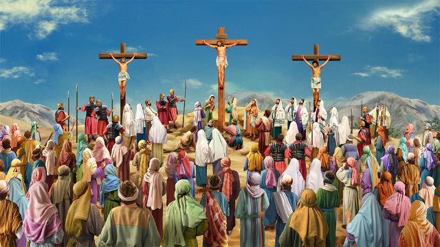 10 April, Bacaan, Bacaan Kitab Suci, bait allah, Firman Tuhan, iman, Injil Katolik, Kitab Suci, Komsos KWI, Konferensi Waligereja Indonesia, KWI, Minggu Palma, penyejuk iman, Perjanjian Lama, pewartaan, sabda tuhan, Ulasan eksegetis, Ulasan Kitab Suci Harian, Yesus Juruselamat, Pekan Suci, Jumat Agung